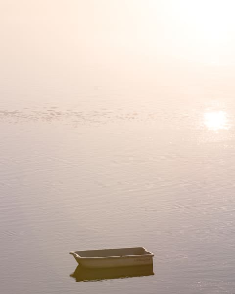 Lone Boat At Dawn Photography Art | Barb Gonzalez Photography