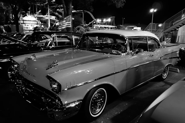 Fifties Chev at Cruise Night