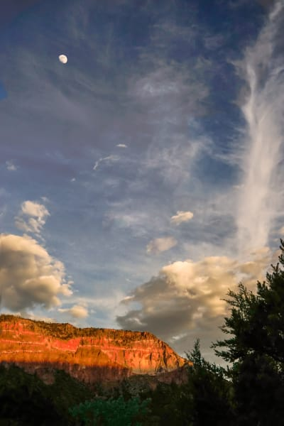 Jemez Sunset Glow, Fine Art Photographs, d'Ellis PhotographicArt by Bill