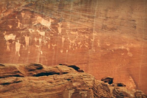 Fine Art Photographs, Canyon de Chelly Petroglyphs | d'Ellis PhotographicArt by Bill
