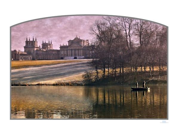 roy fraser blenheim palace fishing on the lake