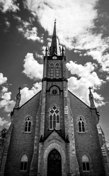 Elora Church Photography Art | Sage & Balm Photography