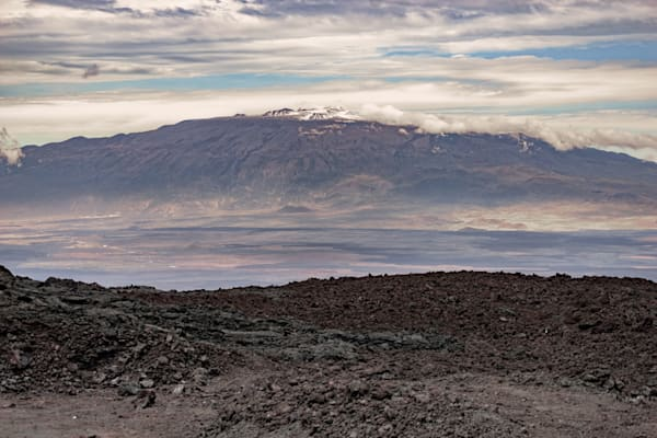 Big Island Photography | Mauna Kea Snow Cap by Peter Tang