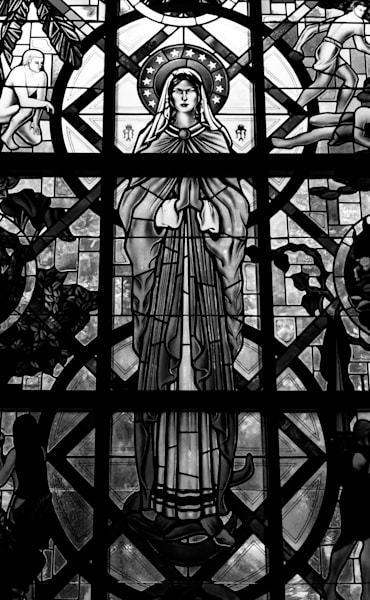 Stained Glass Window Photography Art | Sage & Balm Photography