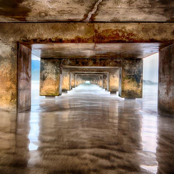 """""""Hanalei Pier Reflections""""  - 035A6944"""
