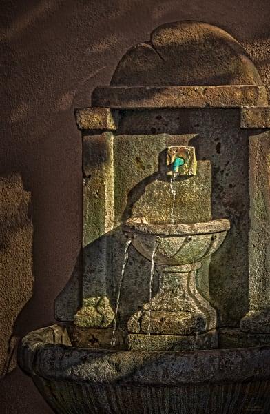Josephina's Fountain, d'Ellis Photographic Art photographs, Elsa