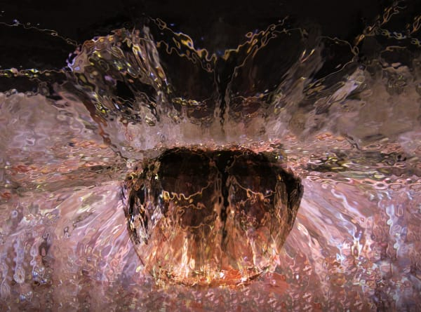Glass Fountain, d'Ellis Photographic Art photographs, Elsa