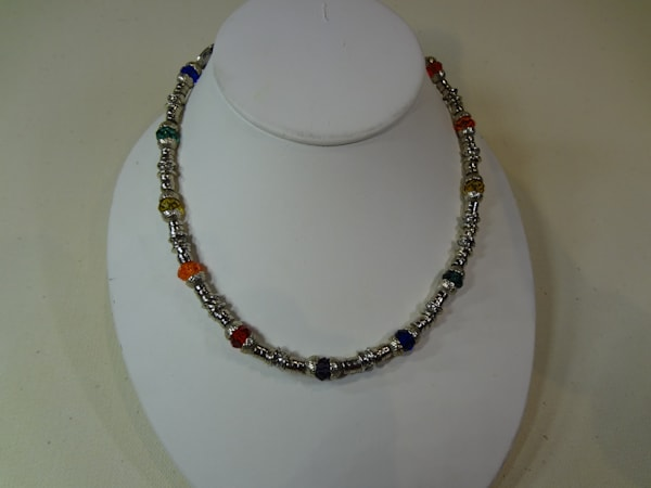 Peggy Pike, jewelry, gemstones, earrings, bangles, anklets.