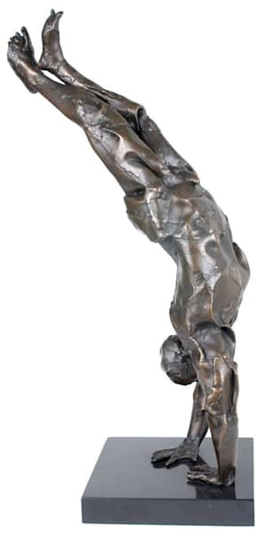Handstand - Limited Edition Bronze 5 of 15