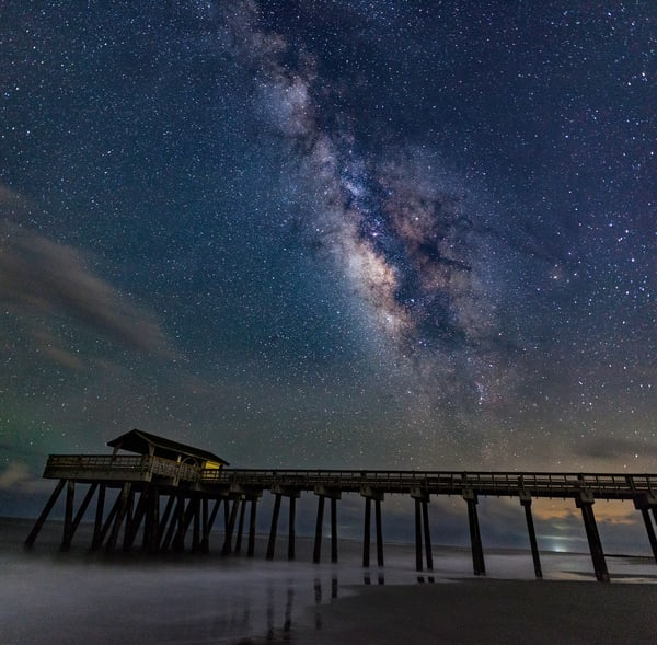 Tybee Pier Black Out