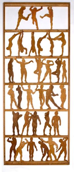 Dance I - wood
