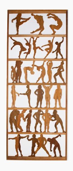 Dance II - wood