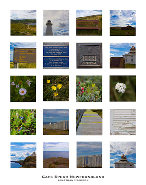 Cape Spear Collage