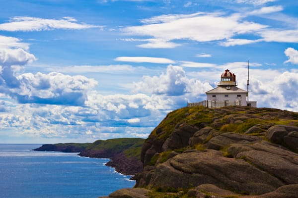 Cape Spear Coast Photography Art by Hancock Gallery