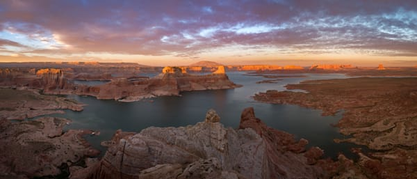 Lake Powell Pano Photograph for Sale as Fine Art
