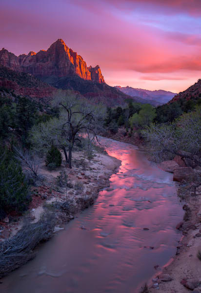 Watchman Sunset Photograph for Sale as Fine Art