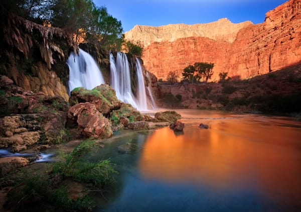 Upper Navajo Falls Photograph for Sale as Fine Art