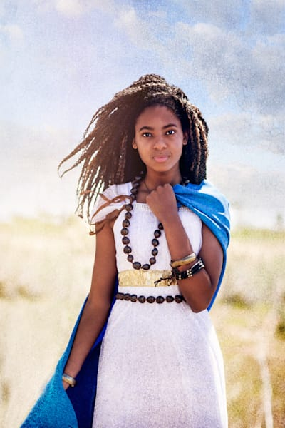 Moses' Ethiopian Wife  Art | Mandy Jane Williams Art