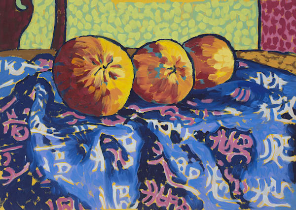 Still life, oranges, fruit, art, paintings