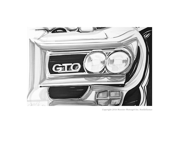 GTO 69 Print