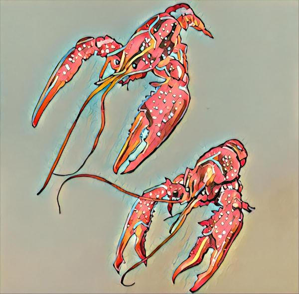 Crawfish 3 by Erin McNutt