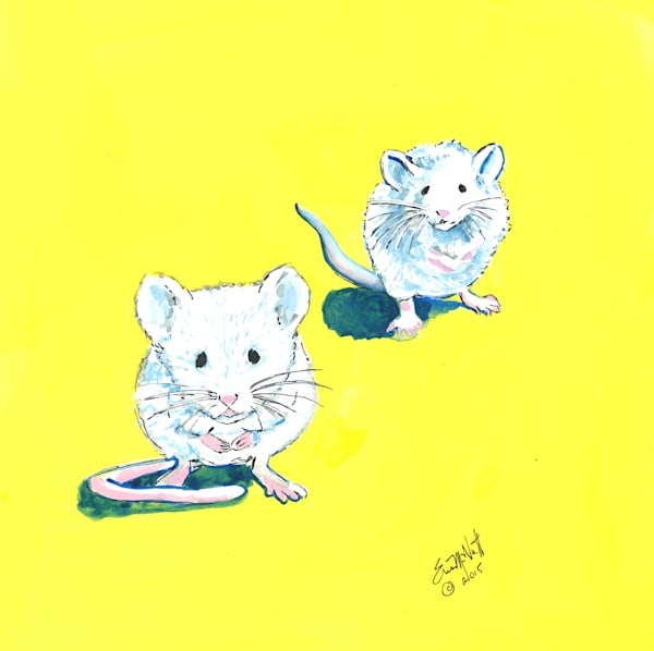 Two Mice by Erin McNutt