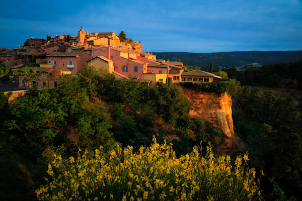 Early Morning at Rousillon