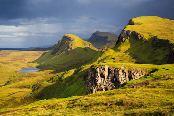 Between Storms at the Quiraing