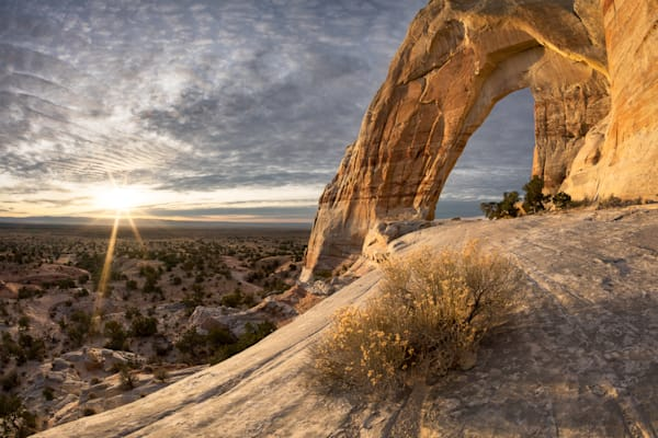 White Mesa Arch Photograph for Sale as Fine Art