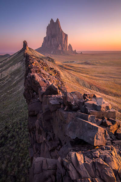 Shiprock From the Ridge Photograph for Sale as Fine Art