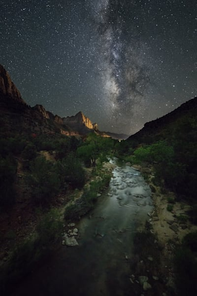 Virgin River Stars Photograph for Sale as Fine Art
