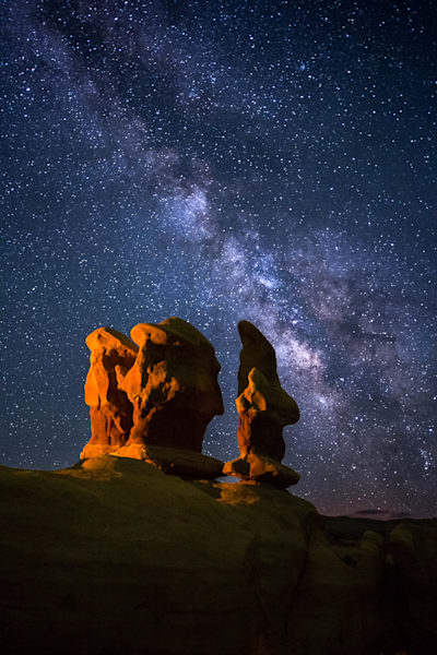 Devils Garden by Night Photograph for Sale as Fine Art