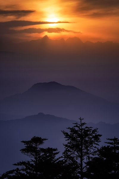 Emei Shan Sunset