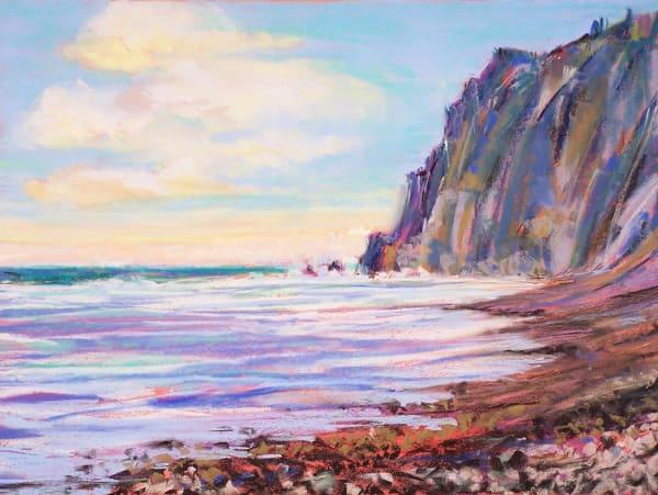 landscape painting oregon coast neahkahnie mountain