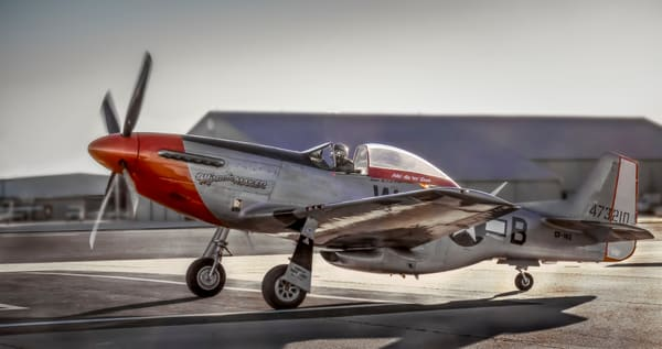 P-51 Mustang Combat Ready WW2 Military Aircraft WWII fleblanc