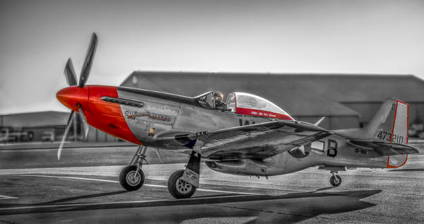 P-51 Mustang Combat Ready Military Old Vintage Aircraft fleblanc