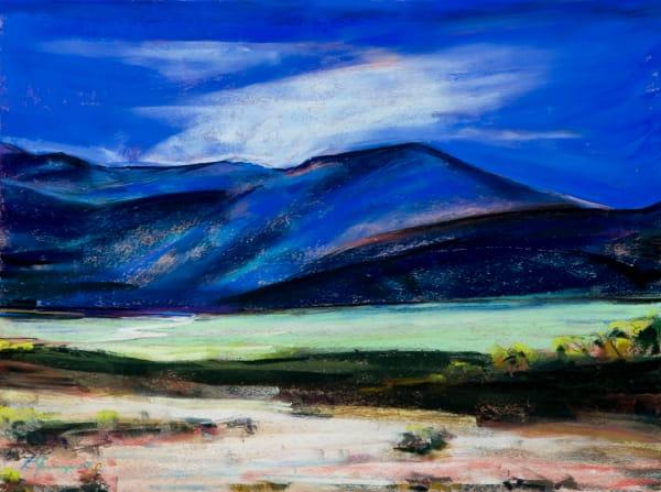 landscape painting SE Oregon Alvord desert