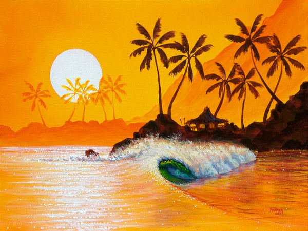 Hawaii Art | Happy Hour by Patrick Parker
