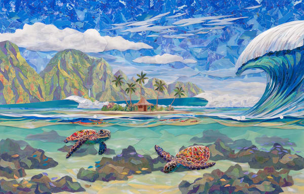 Hawaii Art | Friendly Confines by Patrick Parker