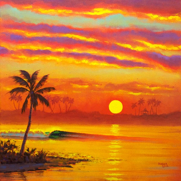 Hawaii Art | Hazy Hideaway by Patrick Parker