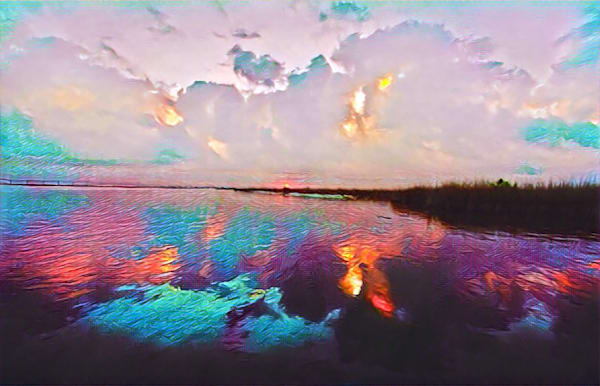 Louisiana Bayou Purple by Erin McNutt