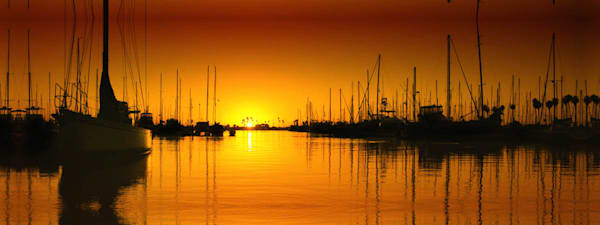 """Ventura Harbor Sunset"""