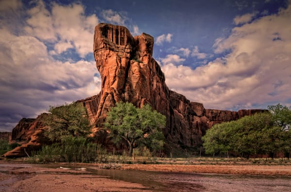 Canyon De Chelly Bedrock,  d'Ellis Photographic Art photographs, Elsa