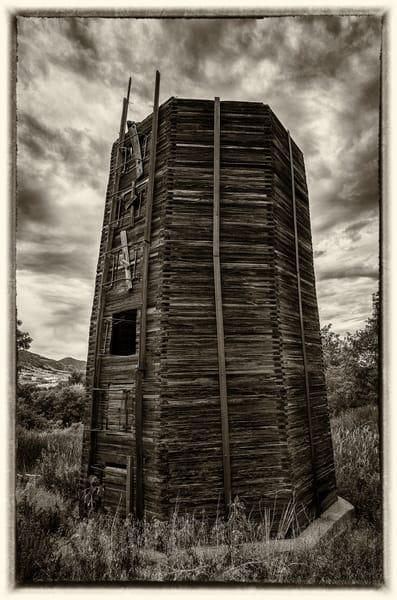 Old Colorado Barn Grain Silo Photography Art | The Photography Alchemist, LLC