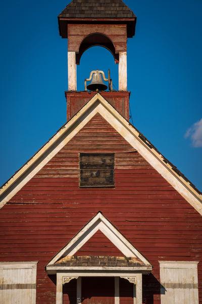Photograph of Old Single Room Schoolhouse Leadville Colorado