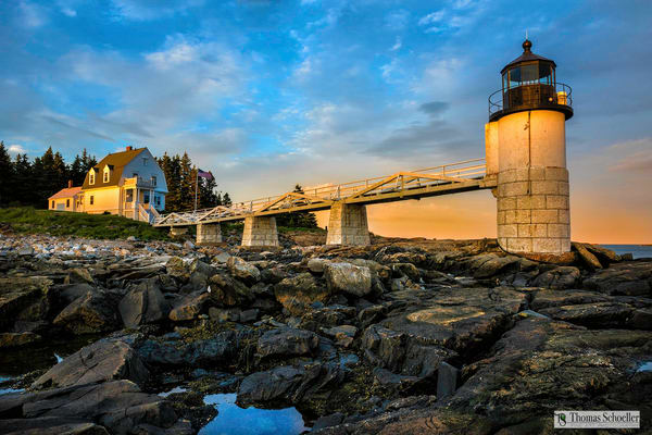Marshall Point Lighthouse | Port Clyde Maine Fine Art Photography Prints
