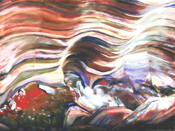 landscape painting Grand Canyon Colorado River