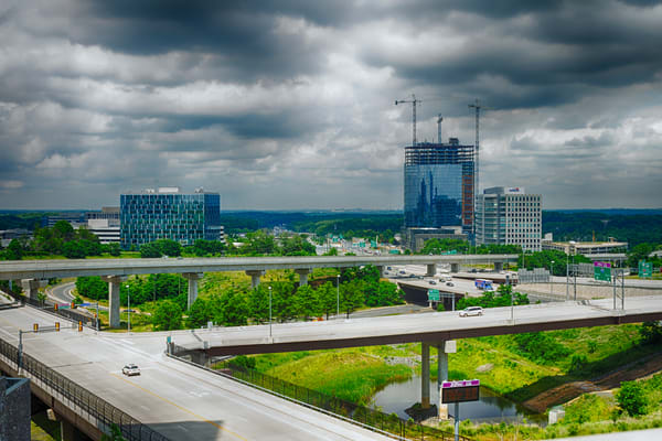 Fine Art Photographs of Tysons by Michael Pucciarelli