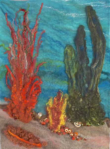 Coral Sea Life Original artwork
