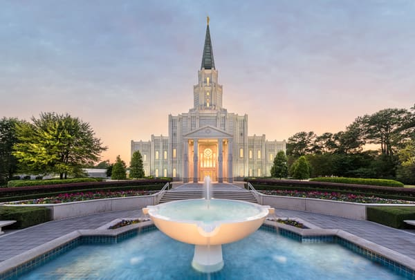 Houston Temple - Living Waters